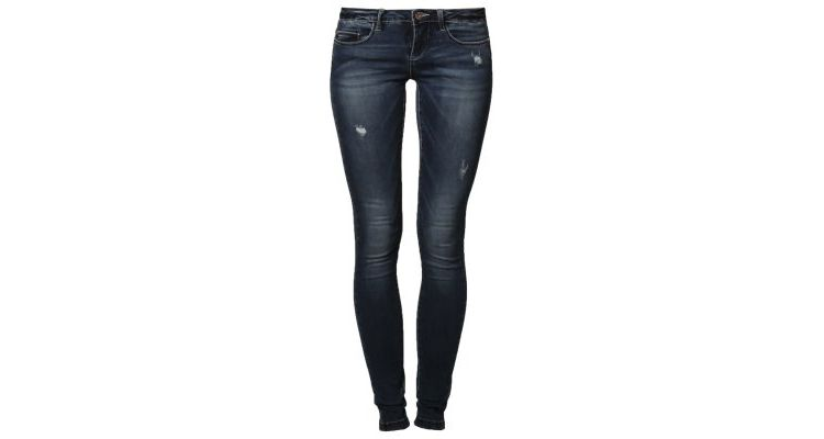 Image Only Slim Fit Jeans Medium Blue Denim