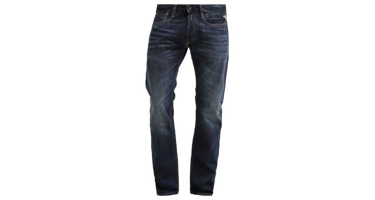 Image Replay Newbill Straight Leg Jeans Blue
