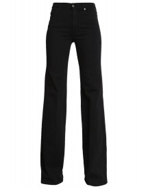 7 For All Mankind Flared Jeans Luxe Rinsed Black afbeelding