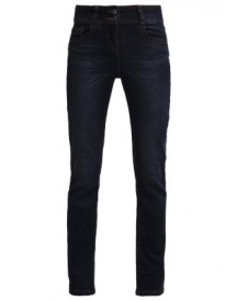 Anna Field Straight Leg Jeans Darkblue Denim afbeelding