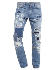 Armani Jeans Jeans Tapered Fit Light Blue Denim afbeelding