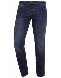 Bugatti Flexcity Straight Leg Jeans Dark Blue Denim afbeelding
