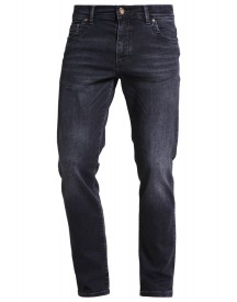 Bugatti Madrid Straight Leg Jeans Black Denim afbeelding