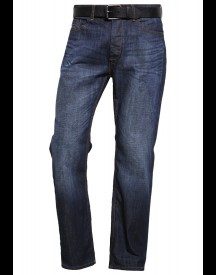 Burton Menswear London Relaxed Fit Jeans Mid Blue afbeelding