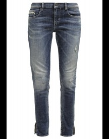 Calvin Klein Jeans Mid Rise Skinny Slim Fit Jeans Rodeo Blue afbeelding