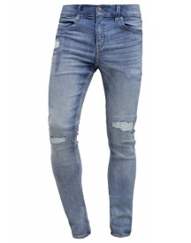 Cheap Monday Slim Fit Jeans Blue Denim afbeelding