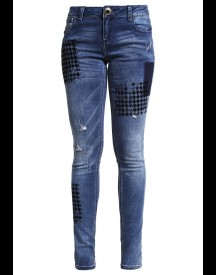 Desigual Dina Slim Fit Jeans Denim Dark Blue afbeelding