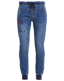 Desigual Donna Slim Fit Jeans Blue Denim afbeelding