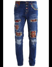 Desigual Exotic Relaxed Fit Jeans Blue Denim afbeelding