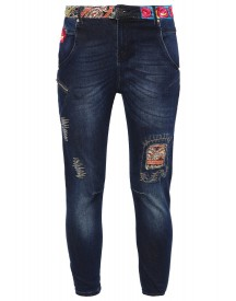 Desigual Petra Relaxed Fit Jeans Denim Dark Blue afbeelding