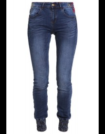Desigual Refriposas Slim Fit Jeans Blue Denim afbeelding