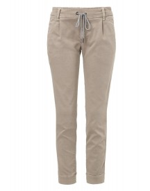 Deyk Holly Jeans Tapered Fit Beige afbeelding