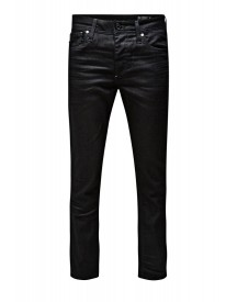 Jack & Jones Jjclark Straight Leg Jeans Black Denim afbeelding