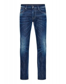 Jack & Jones Jjclark Straight Leg Jeans Blue Denim afbeelding