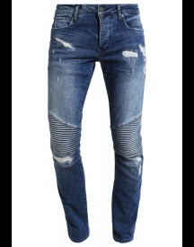 Jack & Jones Jjiglenn Jjryder Slim Fit Jeans Blue Denim afbeelding