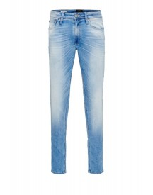Jack & Jones Jjliam Slim Fit Jeans Blue Denim afbeelding