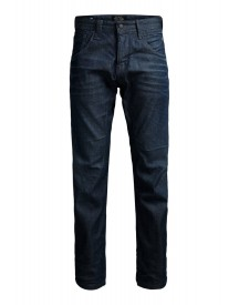 Jack & Jones Stan Jj 980 Straight Leg Jeans Blue Denim afbeelding
