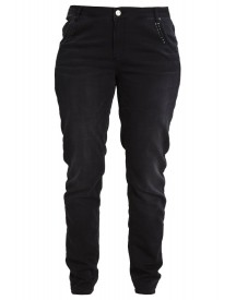 Junarose Jrfour Slim Fit Jeans Dark Grey Denim afbeelding