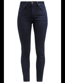 Lee Scarlett High Slim Fit Jeans Darkblue Denim afbeelding