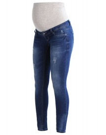 Mama Licious Mlkim Slim Fit Jeans Medium Blue Denim afbeelding