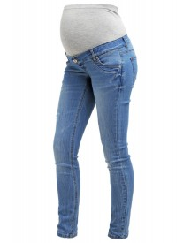 Mama Licious Mlsalt Slim Fit Jeans Medium Blue Denim afbeelding