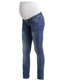 Mama Licious Mltropez Slim Fit Jeans Medium Blue Denim afbeelding