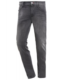 Mustang Oregon Jeans Tapered Fit Black Denim afbeelding