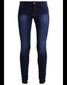 Noisy May Nmextreme Lucy Slim Fit Jeans Dark Blue Denim afbeelding