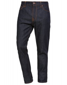Nudie Jeans Brute Knut Jeans Tapered Fit Dry Navy Comfort afbeelding