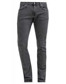 Nudie Jeans Long John Slim Fit Jeans Grey On Grey afbeelding
