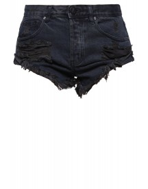 One Teaspoon Bandits Jeans Shorts Fox Black afbeelding