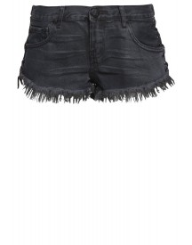 One Teaspoon Jeansshort Fox Black afbeelding