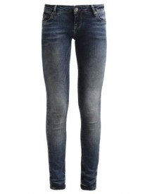 Only Onlcoral Slim Fit Jeans Dark Blue afbeelding