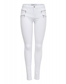 Only Slim Fit Jeans White afbeelding