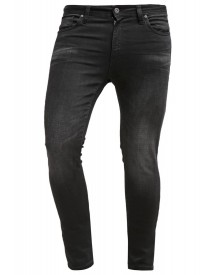 Pier One Slim Fit Jeans Black Denim afbeelding