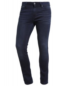 Pier One Slim Fit Jeans Dark Blue Denim afbeelding