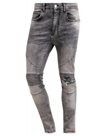 Religion Cavern Slim Fit Jeans Grey Veins afbeelding