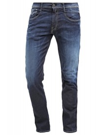 Replay Anbass Slim Fit Jeans Darkblue Denim afbeelding