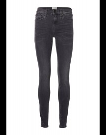 Selected Femme Sfelena Slim Fit Jeans Grey Denim afbeelding