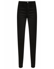 Selected Femme Sfgaia Slim Fit Jeans Black afbeelding