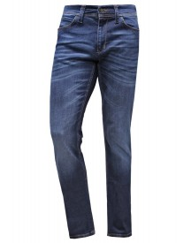 Sisley Straight Leg Jeans Dark Blue Denim afbeelding