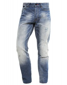 Superdry Biker Straight Leg Jeans Quarry afbeelding