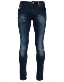 Superdry Slim Fit Jeans Dusted Blue afbeelding