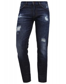 Teddy Smith Roward Rock Straight Leg Jeans Destroyed Denim afbeelding
