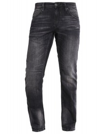 Tom Tailor Denim Atwood Straight Leg Jeans Black Stone Wash Denim afbeelding