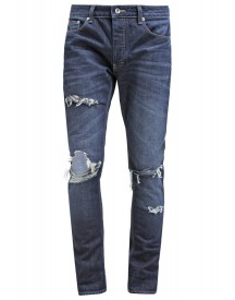 Topman Slim Fit Jeans Dark Blue afbeelding