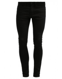 Topman Spray On Skinny Black Slim Fit Jeans Black afbeelding