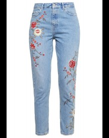 Topshop Relaxed Fit Jeans Middenim afbeelding