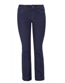 Triangle Bootcut Jeans India Ink afbeelding