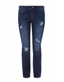 Triangle Straight Leg Jeans Ocean Blue afbeelding